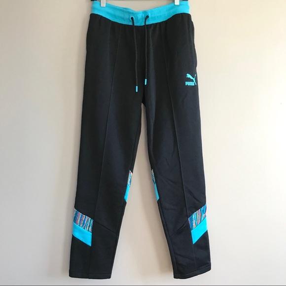 53fb5536f23f COOGI x Puma men track pants joggers black blue